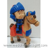 Mike the Knight and Galahad Figurine Toy, Mike the Knight Cake Topper Toy - MKCT03