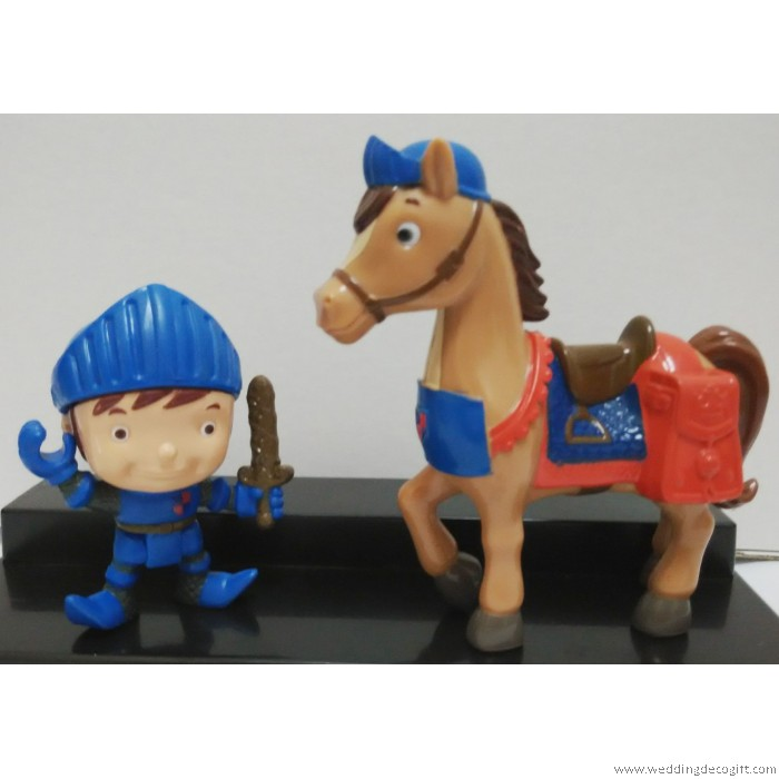 Mike The Knight Cake Topper