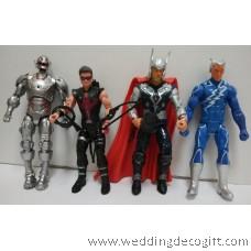 Avengers Toy Figures, Thor, Iron Man,Hulk, Captain America - AVF08