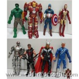 Avengers Toy Figures, Thor, Iron Man,Hulk, Captain America - AVF08