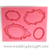 Cake Mirror Silicone Mould - MRM01