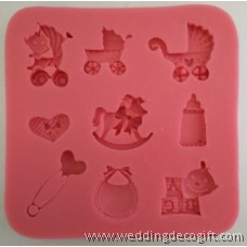 Baby Silicone Cake Mould – BSM07
