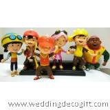 Boboiboy Action Figures, Boboiboy Cake Topper - BBBCT01
