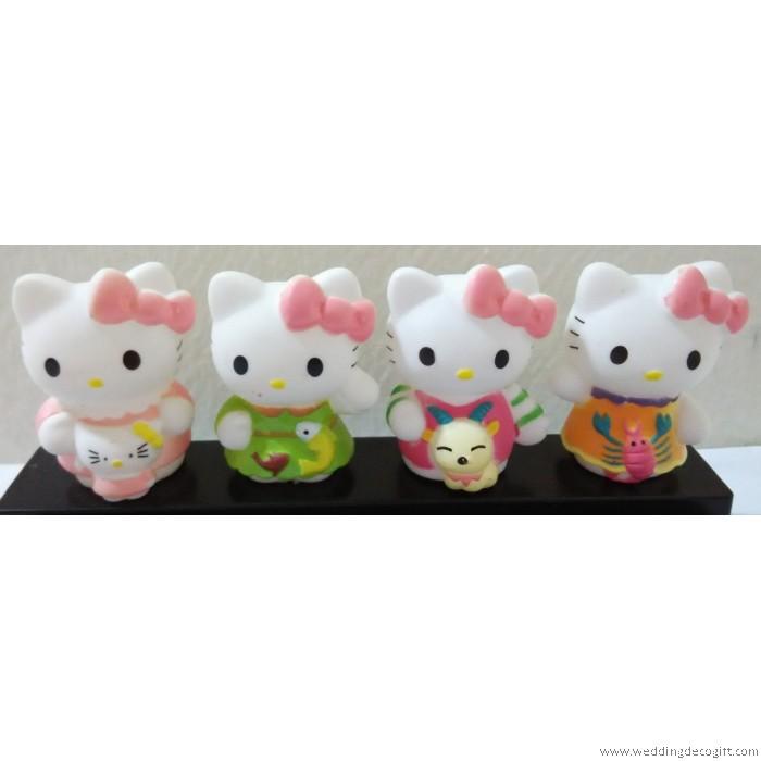 Hello Kitty Toys For Cakes : Hello kitty horoscopes zodiac figures toys cake topper