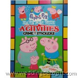 Peppa Pig Activity, Coloring and Sticker Book- PPB01