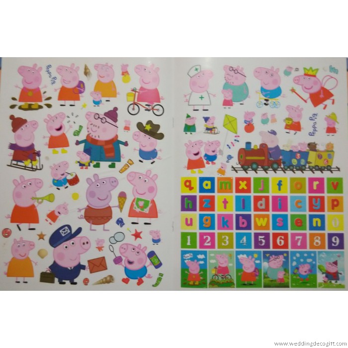 Peppa Pig Activity Coloring And Sticker Book PPB01