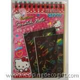 Hello Kity Colourful Notepad - HKS02