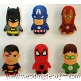Super Heroes, Action Figure Avengers  Shape Eraser - AHE02