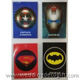 4pcs Super Heroes Note Pad  - AHS01