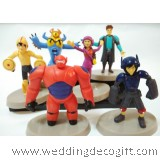 Big Hero 6 Cake Topper Toy Figures  - BHCT04