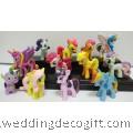 My Little Pony Cake Topper Toy Figurine 12 pcs- MLPCT10