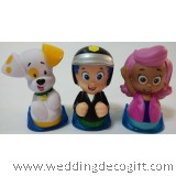 Bubble Guppies Toy Figures, Cake Topper Bubble Guppies (3pcs)- BGCT01D