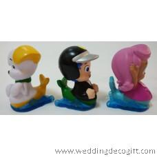 Bubble Guppies Toy Figures, Cake Topper Bubble Guppies (3pcs)- BGCT01D