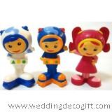 Umizoomi Cake Topper Figures, Toy Umizoomi Figures (3pcs) - UZCT01A