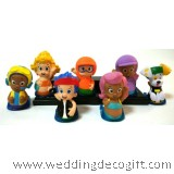 Bubble Guppies Toy Figures, Cake Topper Bubble Guppies (7pcs) - BGCT01A