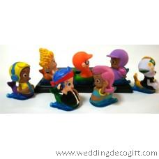 Bubble Guppies Toy Figures, Cake Topper Bubble Guppies (7pcs) - BGCT01A