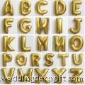 Gold Alphabet Foil Balloon – AGB01