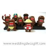 Domo-Kun toy figures,  Toy Domo Kun Cake Topper - DKCT01