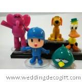 Pocoyo Cake Topper, Pocoyo, Pato, Sleepy Bird, Elly Toy Figurine – PRCT03