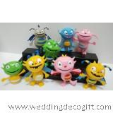 Henry Hugglemonster Toy Figures, Henry Hugglemonster Cake Topper - HHCT01