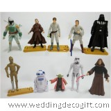 Star Wars Cake Topper Toys, Star Wars Figurine - SWCT04