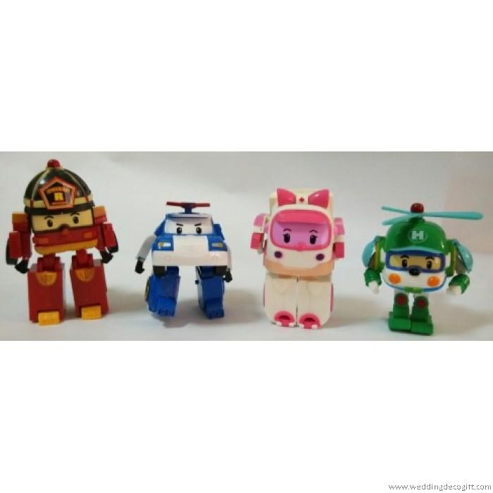 robocar poli transformation robot toy figures