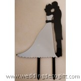 Bride and Groom Couple Cake Topper - WCTP03