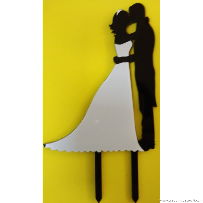 Bride And Groom Couple Cake Topper