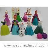 Disney Frozen Elsa, Anna, Olaf Wardrobe Playset- CCPS01