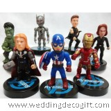 Avengers Cake Topper Figurines, Action Figures Avengers - AVCT01