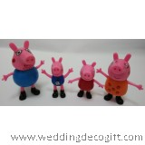 Peppa Pig Toy Figures, Cake Topper Peppa Pig Figurine – PPCT03