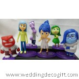 Cartoon Inside Out Toy Figures, Toy Inside Out - IOCT02