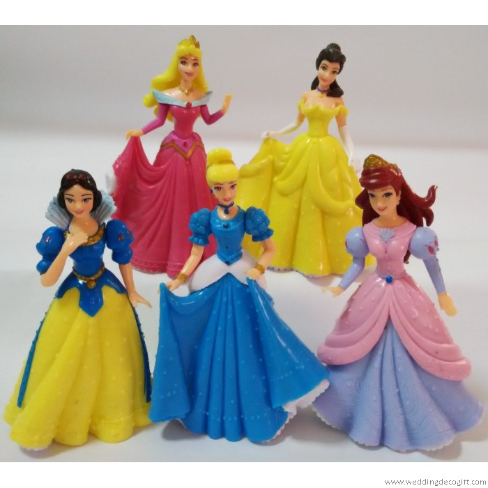 Cinderella, Princess Aurora, Princess Ariel, Belle, Snow White