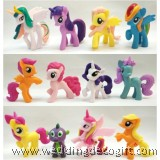 My Little Pony Cake Topper, My little Pony Toy Figures - MLPCT12