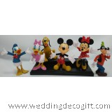 Mickey Mouse, Minnie Mouse,Daisy, Donald Figurine -MMF04