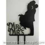 Couple Mr and Mrs Cake Topper - WCTP04B