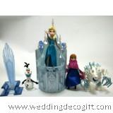 Disney Frozen Elsa, Anna, Olaf Castle Playset- CCPS02