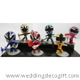 Power Ranger Cake Topper Toy, Toys Power Ranger Ninja Figurine Playset - PRNCT01