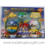 Robocar Poli, Amber, Roy, Helly, School-B, Cap, Max, Dump, School-B Toys- RBPCT02