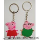 Peppa Pig Key Chain 2pcs - PPKC01