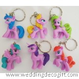My Little Pony Key Chain 6pcs - MLPKC01