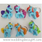 My Little Pony Key Chain 6pcs - MLPKC02