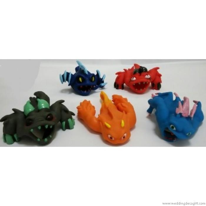 Slugterra Transformation Rubber Toys