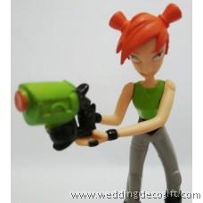 Slugterra Eli, Kord, Trixie, Pronto Toy Figures -SLCT08