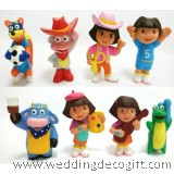 Dora the Explorer Cake Topper Toy Figures - DECT06