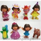 Dora the Explorer Toy Figures Cake Topper - DECT05