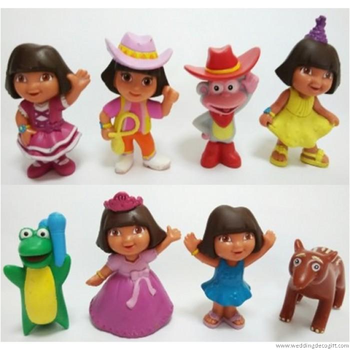 All Dora Toys : Dora the explorer toy figures cake topper