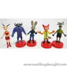 Zootopia Toy Figures - ZOCT01