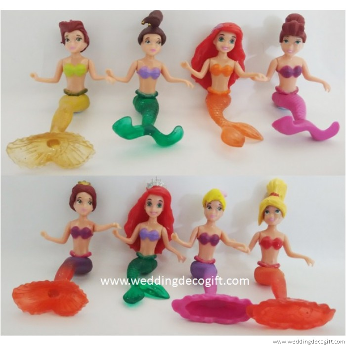 The Little Mermaid Toy Figures