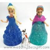 Disney Frozen Elsa, Frozen Anna Magiclip, Olaf Figures Toy - CCT34A